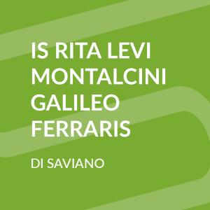 R. Levi Montalcini - G. Ferraris